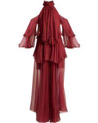 Maria Lucia Hohan - Oksanna Silk Evening Gown - Lyst