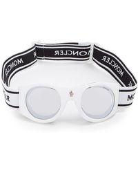 Moncler - Round-frame Ski Goggles - Lyst