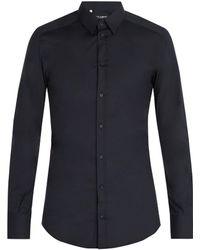 Dolce & Gabbana - Johnny Stretch Cotton Shirt - Lyst