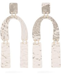 Proenza Schouler | Medium Hammered Earrings | Lyst