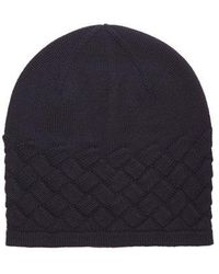 Bottega Veneta - Intrecciato-knit Wool Hat - Lyst