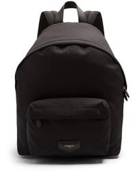Givenchy - Leather-trimmed Logo-print Canvas Backpack - Lyst