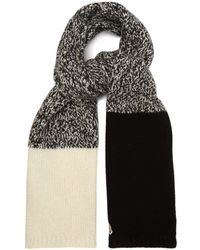 Moncler - Chunky Knit Scarf - Lyst
