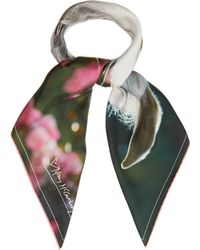 Mary McCartney - Feel The Breeze Print Silk Scarf - Lyst