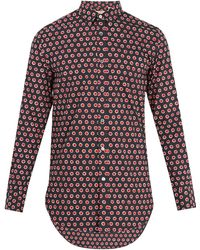 Burberry | Strenton Polka-dot Print Cotton Shirt | Lyst