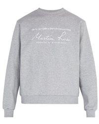 Martine Rose - Classic Crewneck Sweatshirt - Lyst