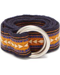Guanabana - Patterned Woven Belt - Lyst