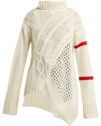 Preen Line - Serenity Cable-knit Sweater - Lyst