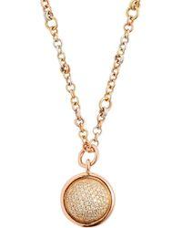 Spinelli Kilcollin - Galina 18kt Gold & Diamond Pavé Necklace - Lyst