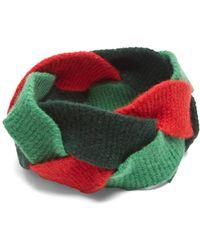Gucci - Braided Wool Blend Headband - Lyst