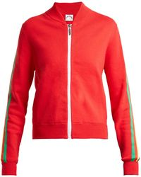 The Upside - Sal Striped Cotton Blend Jacket - Lyst