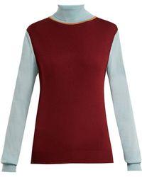 ROKSANDA - Elsta Wool Roll Neck Sweater - Lyst