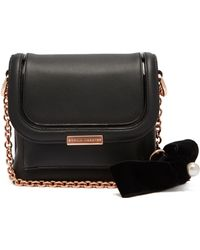 Sophia Webster - Claudie Bow Embellished Leather Cross Body Bag - Lyst