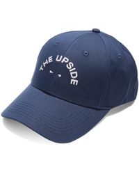 The Upside - Logo-embroidered Cotton Cap - Lyst