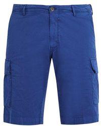 J.W. Brine - Free Key Stretch-cotton Cargo Shorts - Lyst