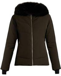 Fusalp - Gardena Ii Fur-trimmed Hooded Ski Jacket - Lyst