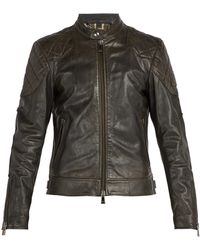 Belstaff - Outlaw Leather Jacket - Lyst