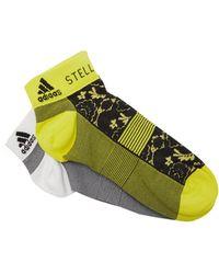 adidas By Stella McCartney - Set Of 2 Flower-print Socks - Lyst