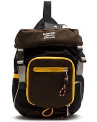 44f5b994d36c Burberry - Logo Print Mini Backpack - Lyst
