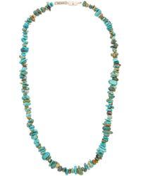 Isabel Marant Logo Plaque And Stone Bracelet - Blue