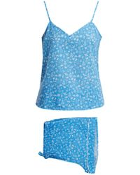 Derek Rose - Ledbury 8 Tropical-print Pyjama Set - Lyst