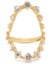 6e7f4debb Tiffany & Co. 1.36 Carat Round Brilliant Diamond Schlumberger Ring ...