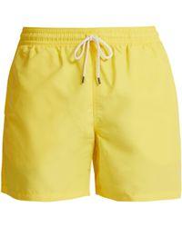 Polo Ralph Lauren - Short de bain à logo brodé - Lyst