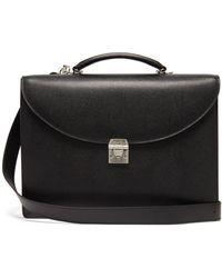 Mark Cross Maddox Saffiano Leather Briefcase
