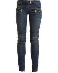 Balmain | Low-rise Skinny-leg Jeans | Lyst