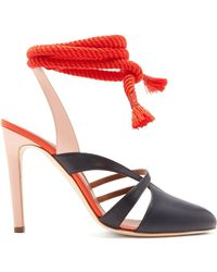 Malone Souliers - Toba Leather Court Shoes - Lyst