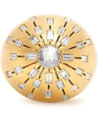 Susan Foster | Diamond & Yellow-gold Ring | Lyst