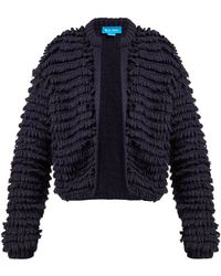 M.i.h Jeans - Foxwell Loop Knit Cardigan - Lyst