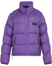Pam - Synthesis Quilted Shell Jacket - Lyst
