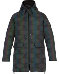 Stone Island - Scarabeo Hooded Down Filled Jacket - Lyst