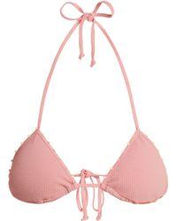 Marysia Swim - St Tropez Triangle Bikini Top - Lyst