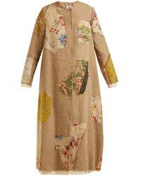 By Walid - Tari 19th-century Print Linen Coat - Lyst