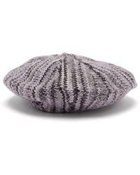 Acne Studios - Wool Knit Beret - Lyst