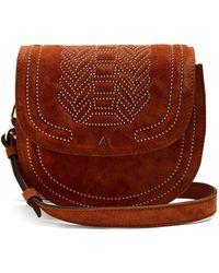 Altuzarra - Ghianda Mini Stud-embellished Leather Bag - Lyst