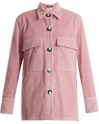 House of Holland | Patch-pocket Corduroy Jacket | Lyst