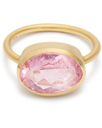 Irene Neuwirth   Tourmaline & Rose-gold Ring   Lyst