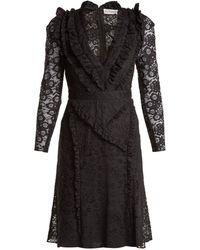 Altuzarra - Ourika Valencienne Lace Ruffle-trimmed Dress - Lyst