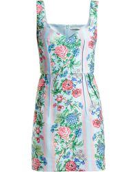 Emilia Wickstead - Judita Floral Print Cloqué Dress - Lyst
