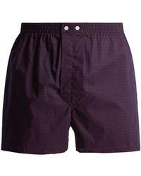 Derek Rose - Nelson Cotton Boxer Shorts - Lyst