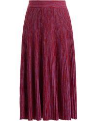 Marni - Ribbed-knit Wool Skirt - Lyst