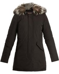 Woolrich | Luxury Arctic Fur-trimmed Down Parka | Lyst