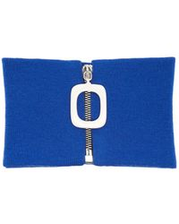 J.W. Anderson   Zip-through Wool Neck Band   Lyst