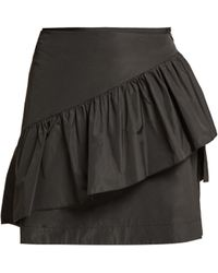See By Chloé - Ruffle Detailed Mini Skirt - Lyst