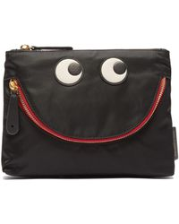 Anya Hindmarch - Happy Eyes Pouch Clutch - Lyst