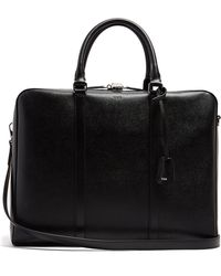 Tod's | Grained-leather Briefcase | Lyst