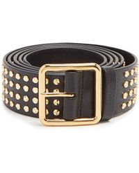 Alexander McQueen - Studded Leather Belt - Lyst